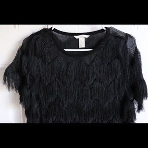 blouse with fringes / in perfect condition ♠️